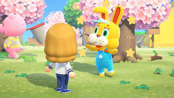 Animal Crossing's first Bunny Day event is a yolk