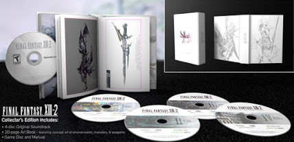 Announcement: Final Fantasy XIII-2 Collector's Edition