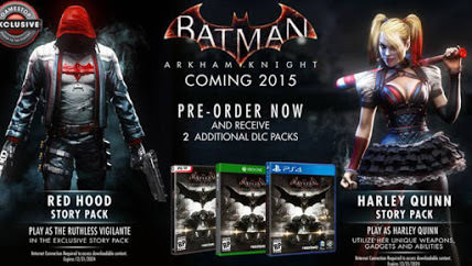 Batman: Arkham Knight Pre-order DLC Leaked, Harley Quinn And Red Hood Playable