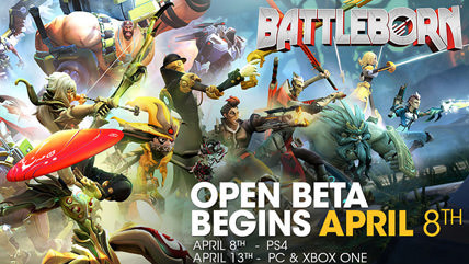 Battleborn open beta starts today on PS4, next week on PC & Xbox One