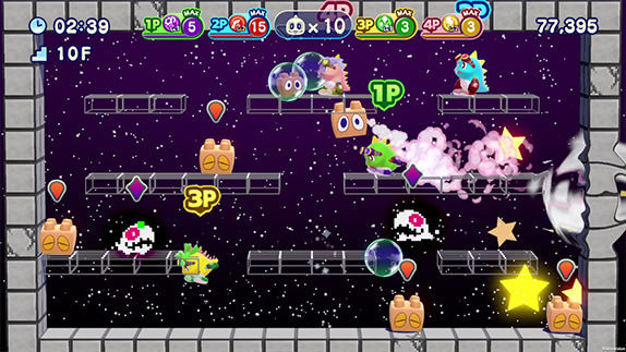 ​Bubble Bobble 4 Friends: The Baron is Back! Review