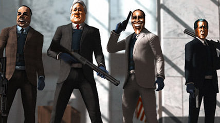 Get presidential with this PayDay: The Heist update