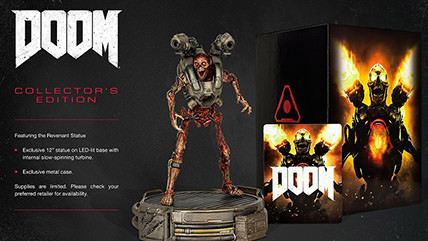 Doom release date, collector's edition announced