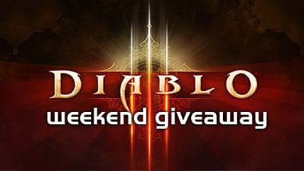 Diablo III weekend giveaway