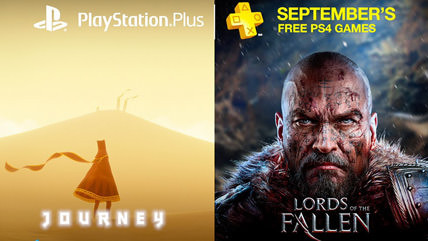 Journey, and Lords of the Fallen coming to PlayStation Plus this month