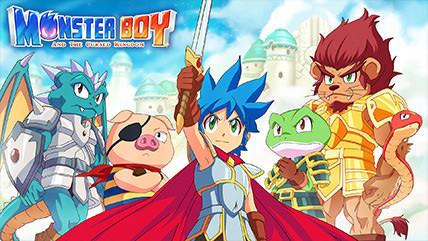 ​Monster Boy and the Cursed Kingdom Review