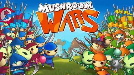 Mushroom Wars adds competitive online and local multiplayer on Steam