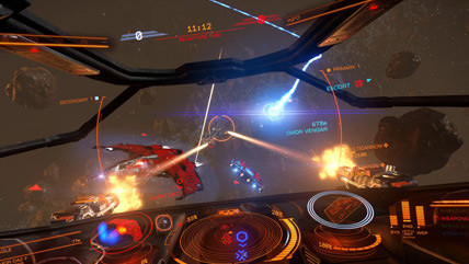 Standalone PvP combat game 'Elite Dangerous: Arena' out now