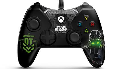 PowerA Releases Licensed Rogue One: A Star Wars Story Controllers for Xbox One