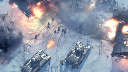 Return to WWII in Company of Heroes 2
