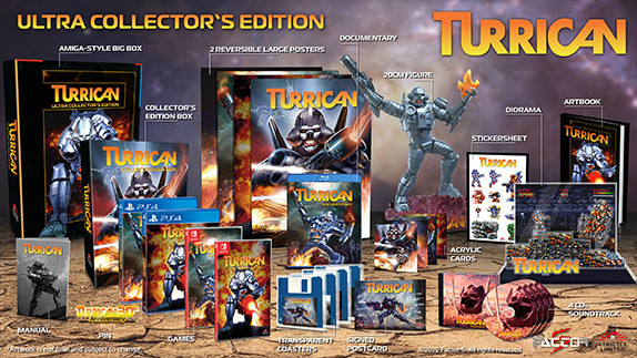 Turrican returns with two Anthology Collections, Factor 5 developing